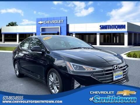 2020 Hyundai Elantra for sale at CHEVROLET OF SMITHTOWN in Saint James NY