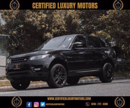 2015 Land Rover Range Rover Sport for sale at Certified Luxury Motors in Great Neck NY
