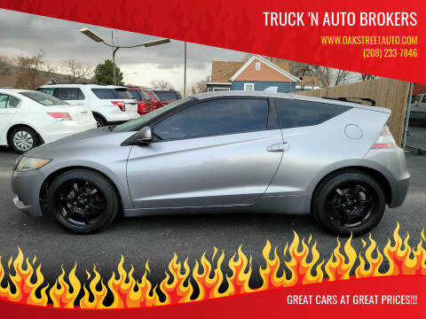 2011 Honda CR-Z for sale at Truck 'N Auto Brokers in Pocatello ID