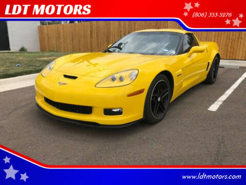 2006 Chevrolet Corvette for sale at LDT MOTORS in Amarillo TX
