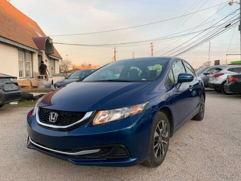 2015 Honda Civic for sale at Makka Auto Sales in Dallas TX