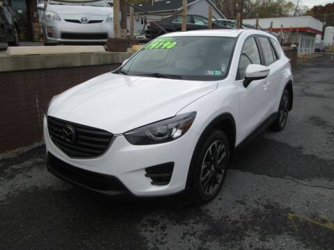 2016 Mazda CX-5 for sale at WORKMAN AUTO INC in Pleasant Gap PA