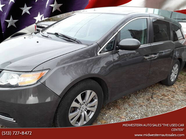"2015 Honda Odyssey for sale at MIDWESTERN AUTO SALES        ""The Used Car Center"" in Middletown OH"