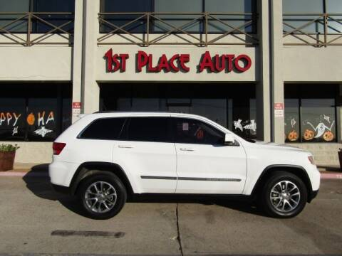 2013 Jeep Grand Cherokee for sale at First Place Auto Ctr Inc in Watauga TX