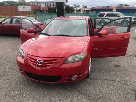 2005 Mazda MAZDA3 for sale at LINDER'S AUTO SALES in Gastonia NC