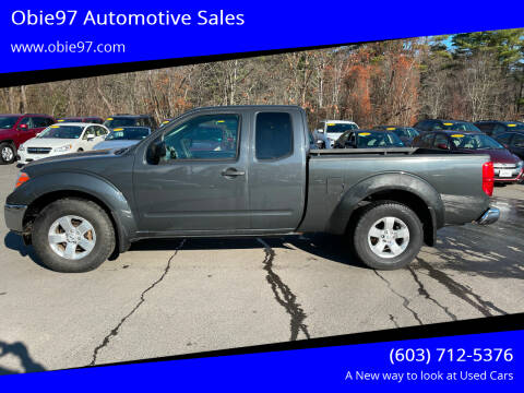 2010 Nissan Frontier for sale at Obie97 Automotive Sales in Londonderry NH