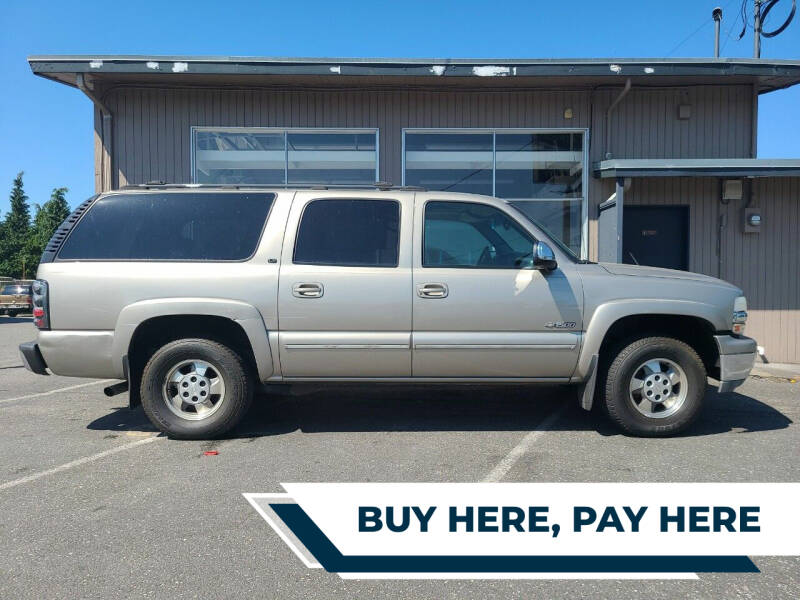 2000 Chevrolet Suburban for sale at Westside Motors in Mount Vernon WA