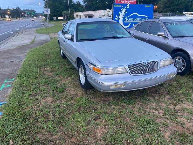 1997 Mercury Grand Marquis for sale at Nash's Auto Sales Used Car Dealer in Milton FL