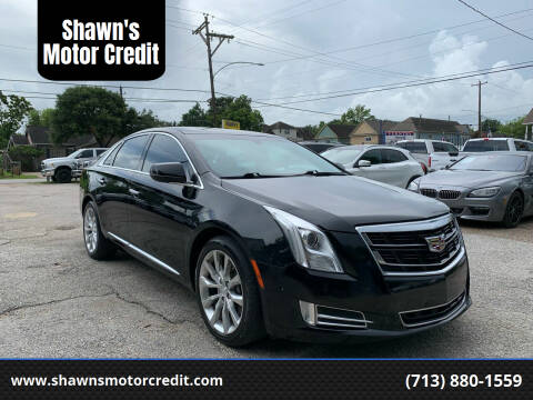 2017 Cadillac XTS for sale at Shawn's Motor Credit in Houston TX