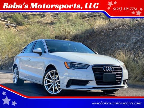 2015 Audi A3 for sale at Baba's Motorsports, LLC in Phoenix AZ