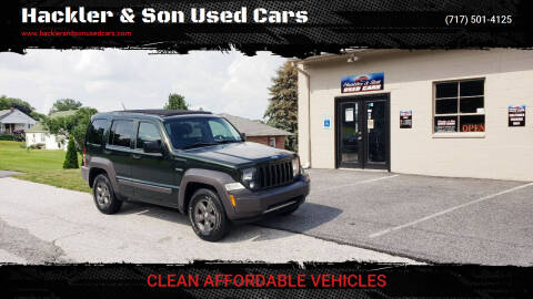 2010 Jeep Liberty for sale at Hackler & Son Used Cars in Red Lion PA