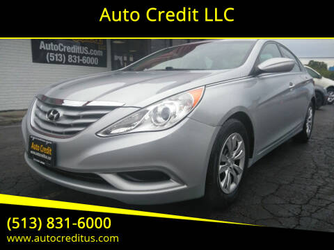2012 Hyundai Sonata for sale at Auto Credit LLC in Milford OH