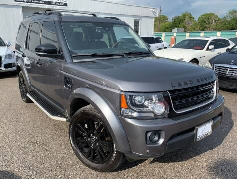 2015 Land Rover LR4 for sale at KAYALAR MOTORS in Houston TX
