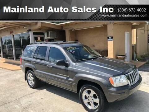 2004 Jeep Grand Cherokee for sale at Mainland Auto Sales Inc in Daytona Beach FL