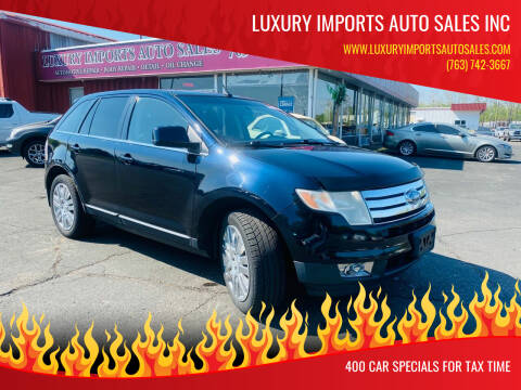 2008 Ford Edge for sale at LUXURY IMPORTS AUTO SALES INC in North Branch MN