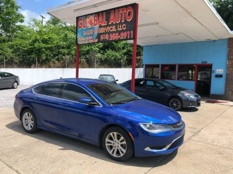 2015 Chrysler 200 for sale at Global Auto Sales and Service in Nashville TN