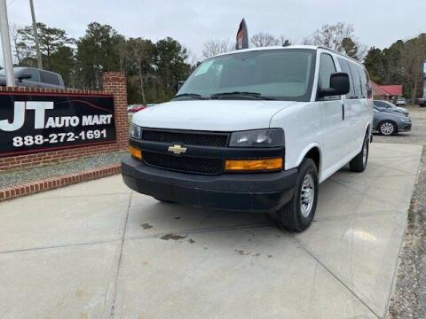 2018 Chevrolet Express Passenger for sale at J T Auto Group in Sanford NC