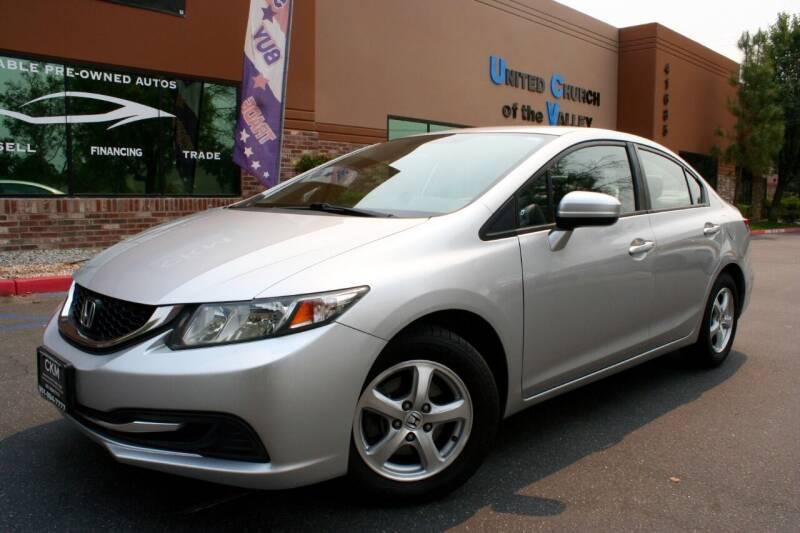 2014 Honda Civic for sale at CK Motors in Murrieta CA