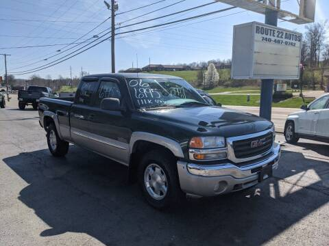 2006 GMC Sierra 1500 for sale at Route 22 Autos in Zanesville OH