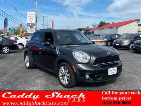2012 MINI Cooper Countryman for sale at CADDY SHACK CARS in Edgewater MD