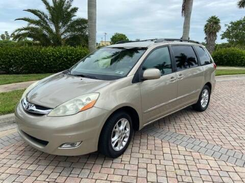 2006 Toyota Sienna for sale at Used Cars Cape Coral -- World Champions Auto Inc in Cape Coral FL