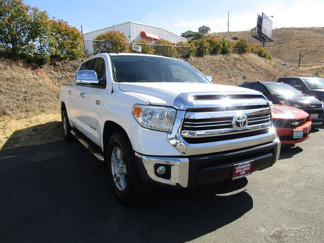 2016 Toyota Tundra for sale at Guy Strohmeiers Auto Center in Lakeport CA