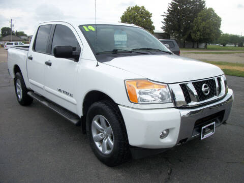 2014 Nissan Titan for sale at USED CAR FACTORY in Janesville WI