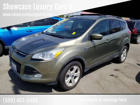 2013 Ford Escape for sale at Showcase Luxury Cars II in Fresno CA
