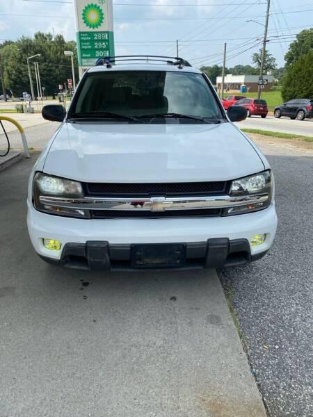 2005 Chevrolet TrailBlazer EXT for sale at Dalia Motors LLC in Winder GA