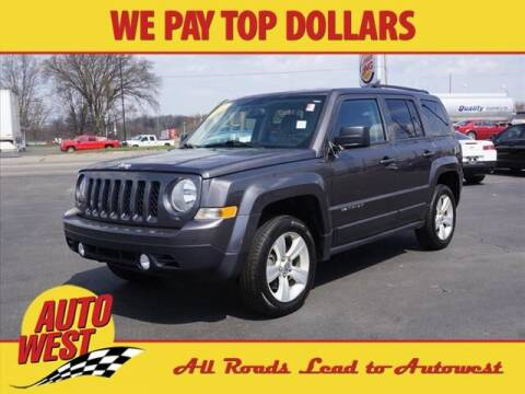 2017 Jeep Patriot for sale at Autowest Allegan in Allegan MI