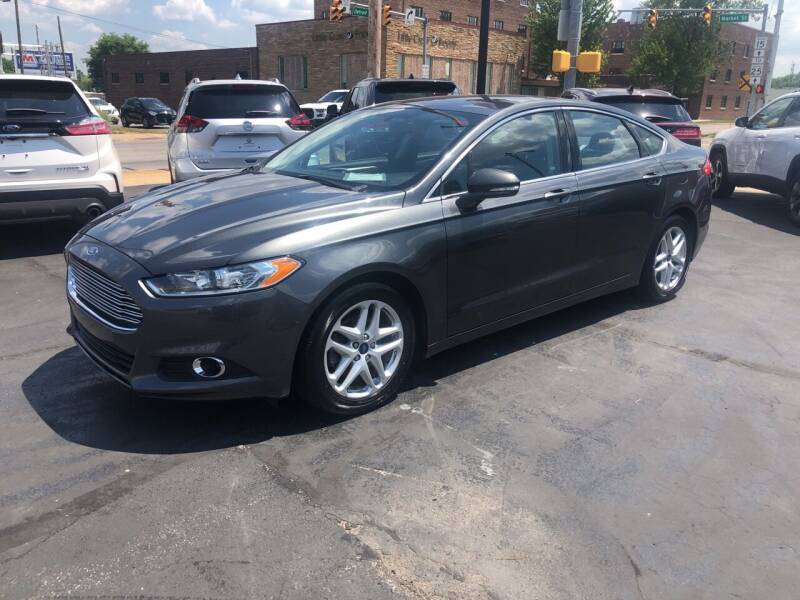 2015 Ford Fusion for sale at N & J Auto Sales in Warsaw IN