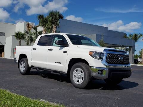 2021 Toyota Tundra for sale at PHIL SMITH AUTOMOTIVE GROUP - Toyota Kia of Vero Beach in Vero Beach FL
