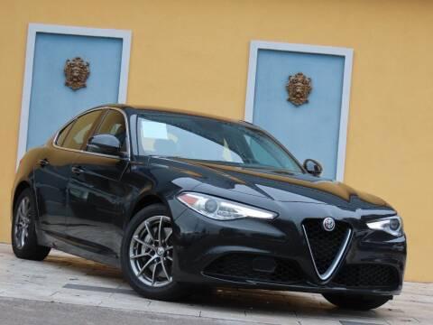 2017 Alfa Romeo Giulia for sale at Paradise Motor Sports LLC in Lexington KY