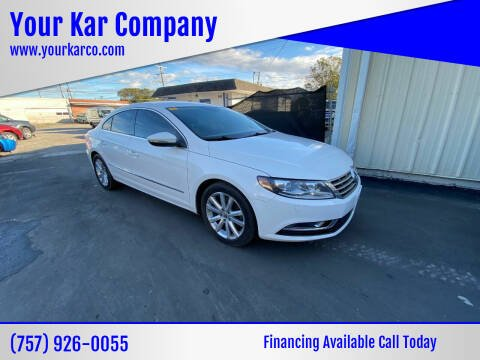 2014 Volkswagen CC for sale at Your Kar Company in Norfolk VA