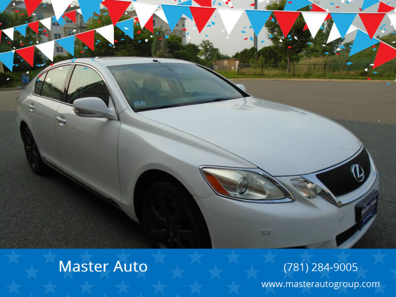 2008 Lexus GS 350 for sale at Master Auto in Revere MA