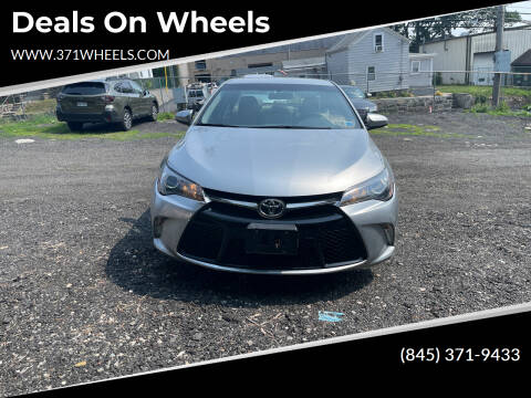 2017 Toyota Camry for sale at Deals on Wheels in Suffern NY