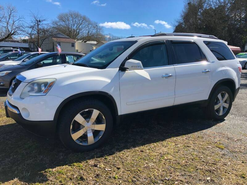2011 GMC Acadia for sale at Kelley's Cars Inc. in Belmont NC