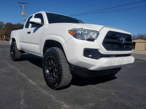 2017 Toyota Tacoma for sale at Thornhill Motor Company in Hudson Oaks, TX