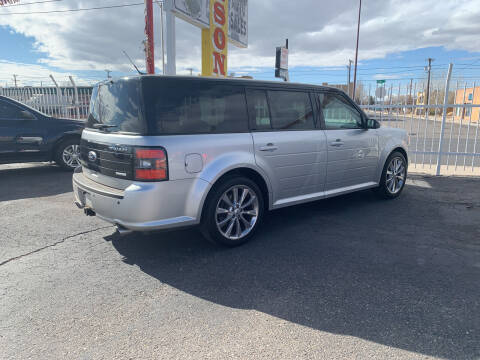 2012 Ford Flex for sale at Robert B Gibson Auto Sales INC in Albuquerque NM