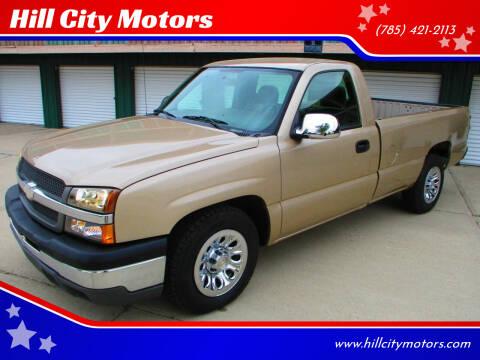 2005 Chevrolet Silverado 1500 for sale at Hill City Motors in Hill City KS