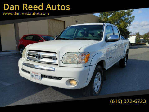 2006 Toyota Tundra for sale at Dan Reed Autos in Escondido CA
