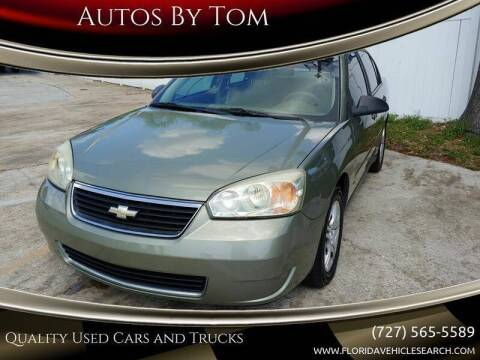 2006 Chevrolet Malibu for sale at Autos by Tom in Largo FL