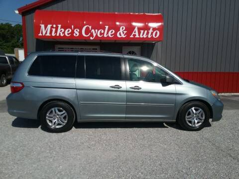 2005 Honda Odyssey for sale at MIKE'S CYCLE & AUTO in Connersville IN