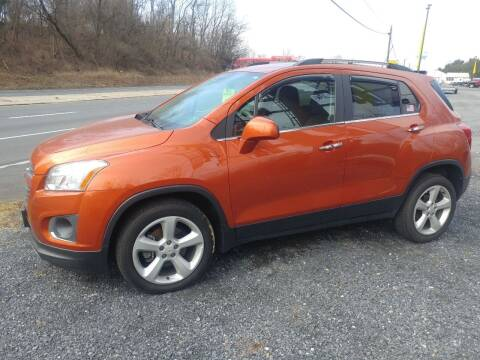 2016 Chevrolet Trax for sale at Smart Choice 61 Trailers in Shoemakersville PA