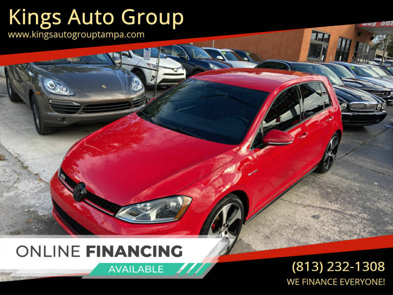 2015 Volkswagen Golf GTI for sale at Kings Auto Group in Tampa FL