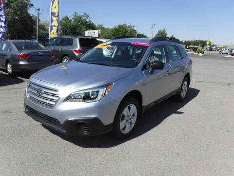 2015 Subaru Outback for sale at Budget Auto Sales in Carson City NV