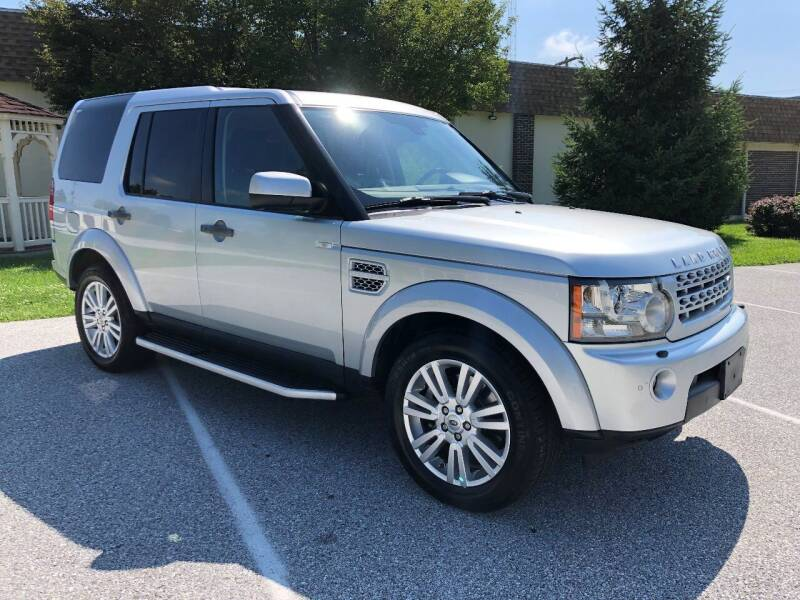 2012 Land Rover LR4 for sale at CROSSROADS AUTO SALES in West Chester PA