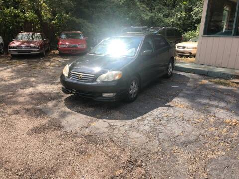 2004 Toyota Corolla for sale at Carlisle Cars in Chillicothe OH