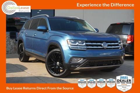 2019 Volkswagen Atlas for sale at Dallas Auto Finance in Dallas TX