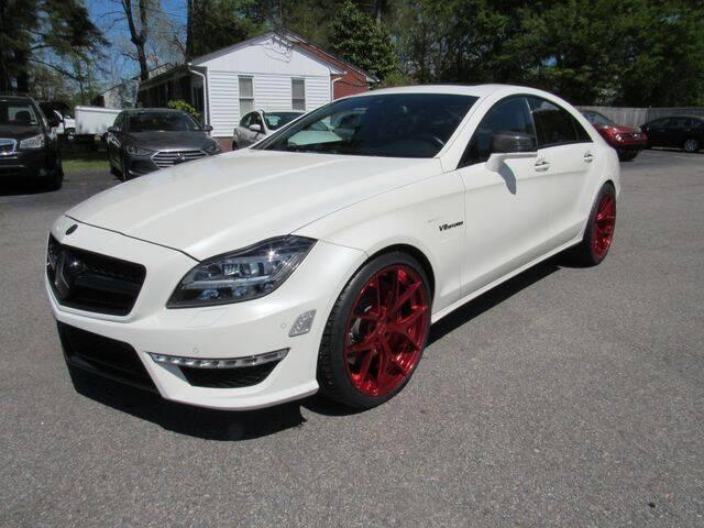 2012 Mercedes-Benz CLS for sale at Atlantic Auto Sales in Chesapeake VA
